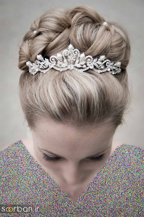 جدیدترین مدل های تاج عروس اروپایی 3