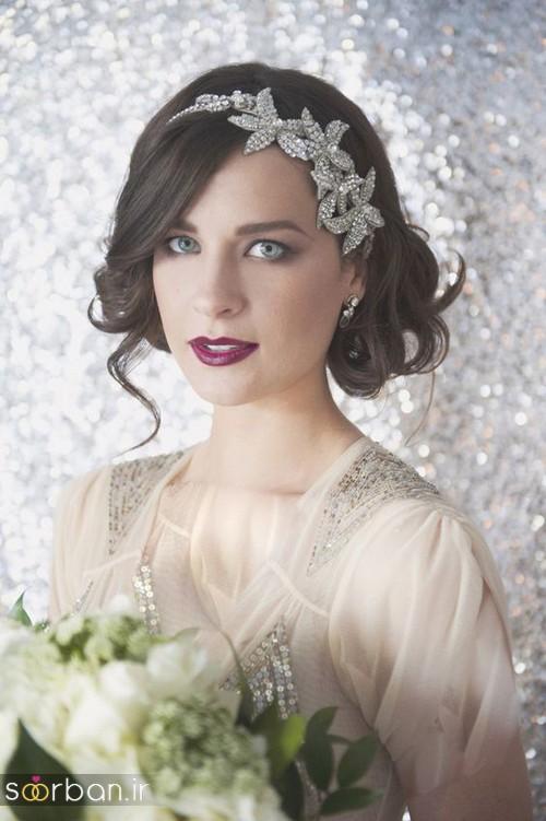 جدیدترین مدل های تاج عروس اروپایی 6