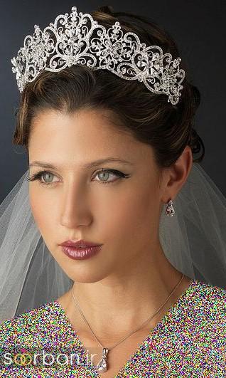 جدیدترین مدل های تاج عروس اروپایی 10