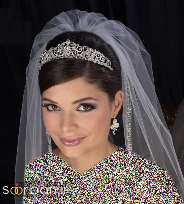 جدیدترین مدل های تاج عروس اروپایی 21