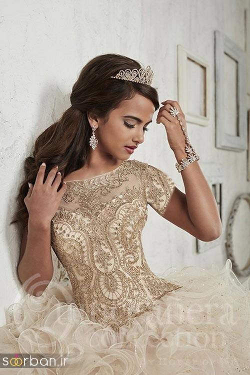جدیدترین مدل های تاج عروس اروپایی 22