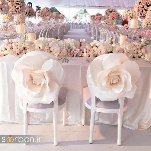 تزیین صندلی عروس و داماد-2