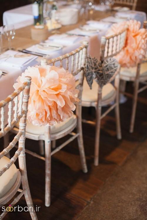 تزیین صندلی عروس و داماد-4