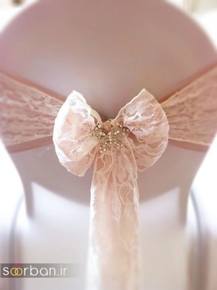 دیزاین سفره عقد ریبا در تالار عروسی