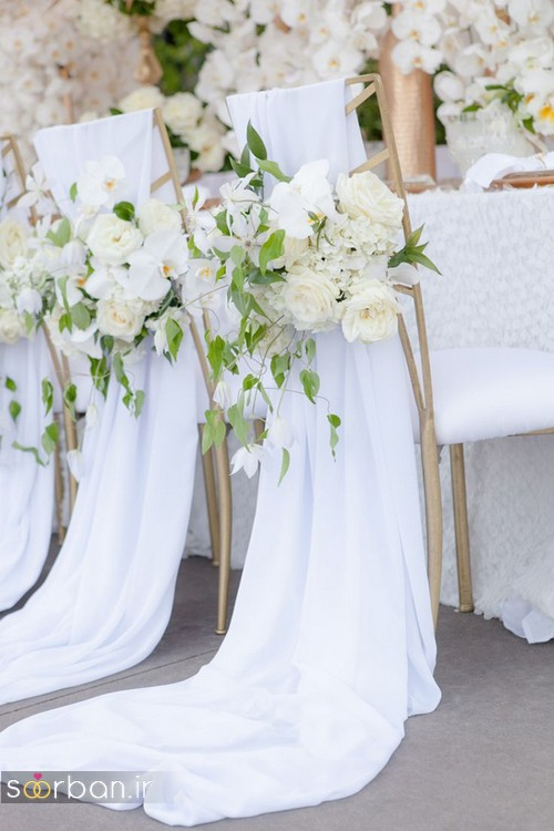 تزیین صندلی عروس و داماد-28