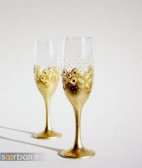 32 تزیین جام عسل سفره عقد عروس و داماد