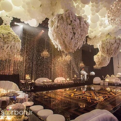 تزیین و دکوراسیون لوکس تالار عروسی 8