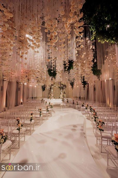 تزیین و دکوراسیون لوکس تالار عروسی 9