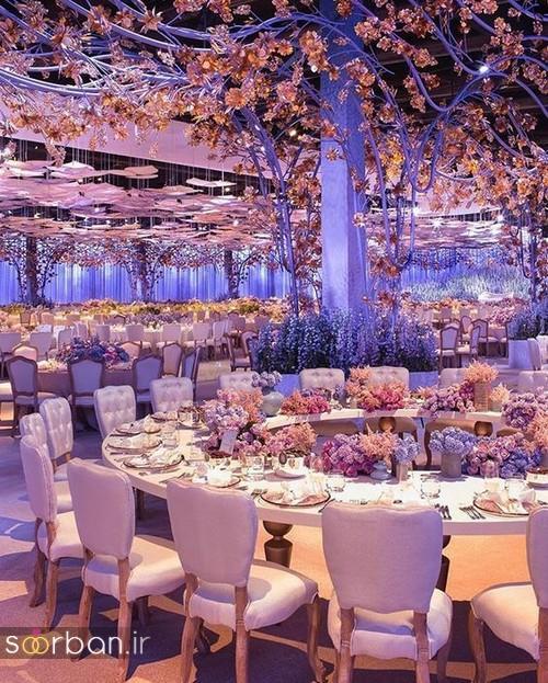 تزیین و دکوراسیون لوکس تالار عروسی 10