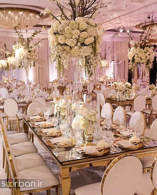 تزیین و دکوراسیون لوکس تالار عروسی 15