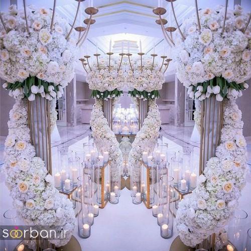 تزیین و دکوراسیون لوکس تالار عروسی 18