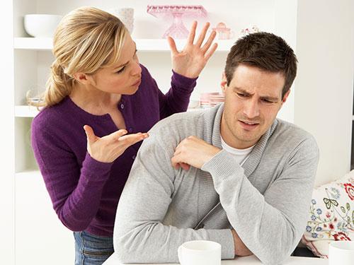 قوانیـن دعوا، جر و بحث در زندگی مشترک