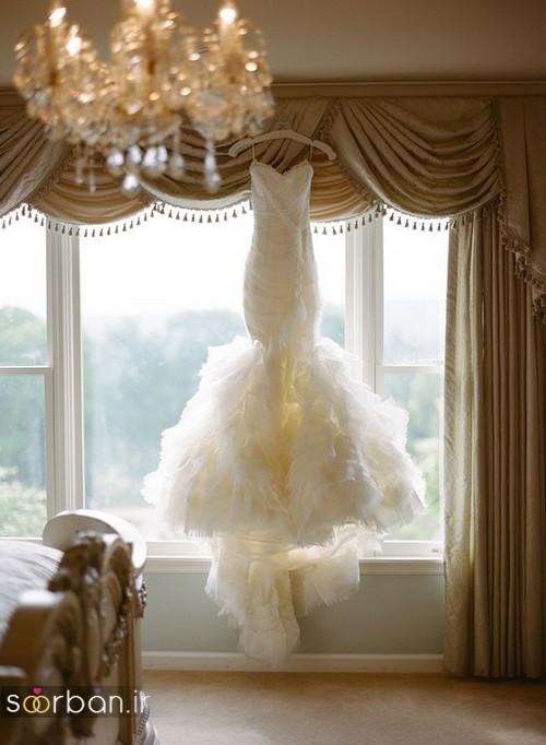 توصیه های مخصوص لباس عروس