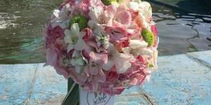 دسته گل عروس ژورنالی ملودی در تهران