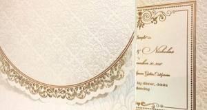 کارت عروسی دایموند