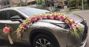 ماشین عروس گل طهرون اصفهان