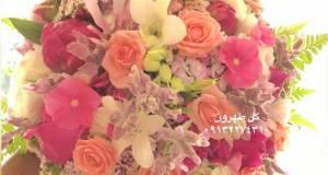 دسته گل عروس گل طهرون اصفهان