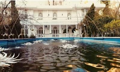 باغ عمارت الهیه در تهران