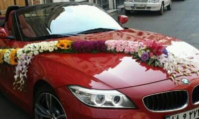 اجاره انواع ماشین عروس در تهران