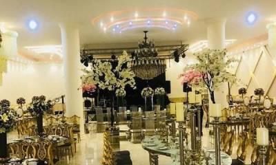 باغ تالار عمارت سنا تهران