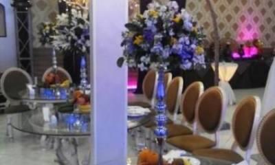 باغ رویایی منو شام تهران