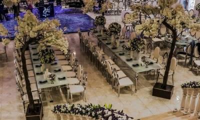 باغ تالار قصر لنا تهران