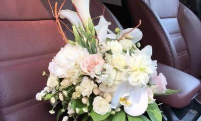 انواع دسته گل عروس خرم اباد