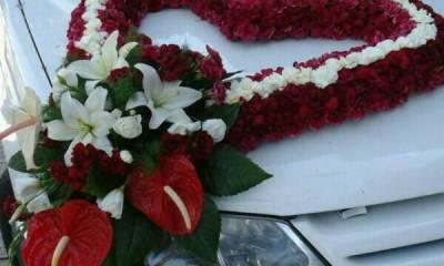 تزیین ماشین عروس در مشهد