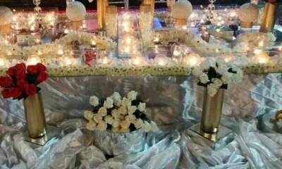 انواع سفره عقد و لباس عروس در شیراز