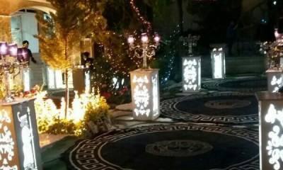 شیکترین باغ تالار شرق تهران