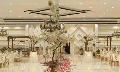 باغ تالار الهه ناز تهران
