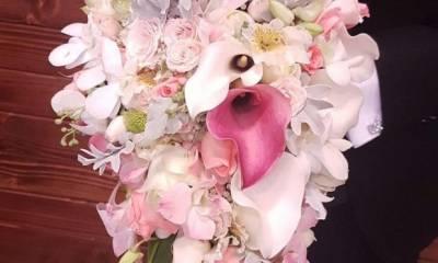 دسته گل عروس ژورنالی گلستان خاطره تهران