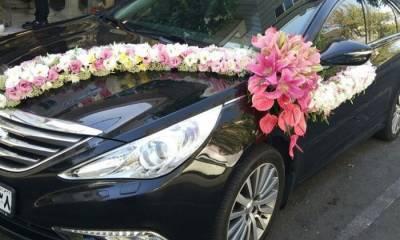 تزیین ماشین عروس گلستان خاطره تهران