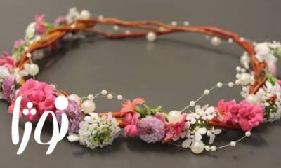 تاج گل عروس نوژا تهران