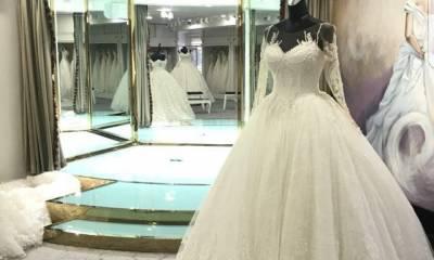 لباس عروس تاج محل تهران
