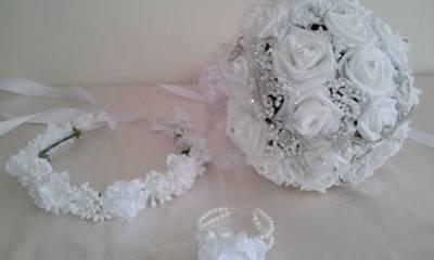 دسته گل عروس الینا تهران