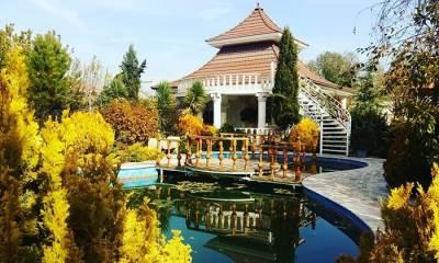 باغ عمارت نارلی شهریار