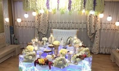 دفتر ازدواج با سفره عقد آکواریومی تهران