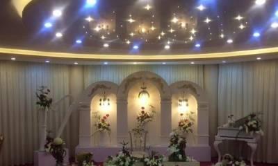 تالار پذیرایی سفید اصفهان