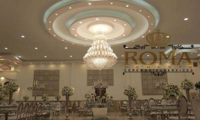 باغ تالار روما تهران، باغ تالار لوکس غرب تهران