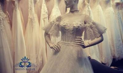 مزون لباس عروس بهاره افشار تهران