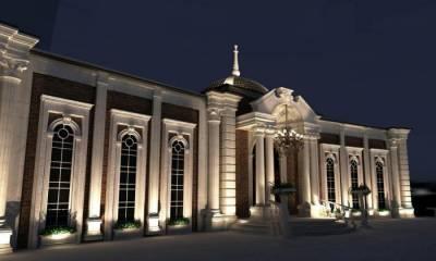 8197477599357 باغ تالار تاج محل شیراز