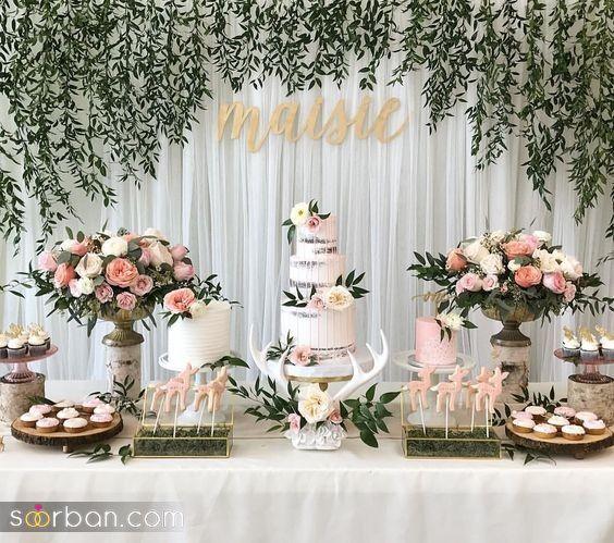 تزیین میز تولد و جشن تولد پسرانه و دخترانه بزرگسال
