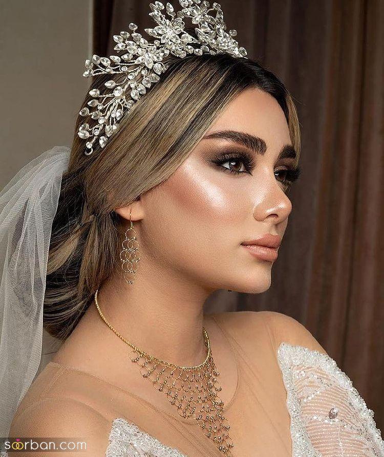 آلبومی از انواع تاج عروس ویژه سال 2021 - 1400