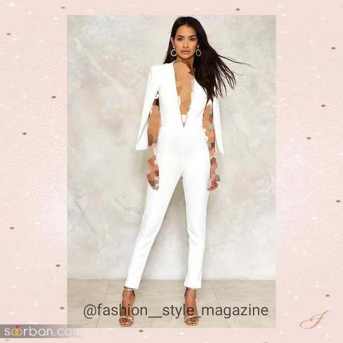 جدیدترین مدل لباس اورال عقد 2021 ویژه عروس خانم های خوش سلیقه (لباس اورآل عروس)