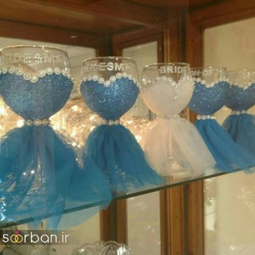 مدل ظرف هفت سین عروس جدید 4