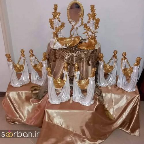 مدل ظرف هفت سین عروس جدید 15
