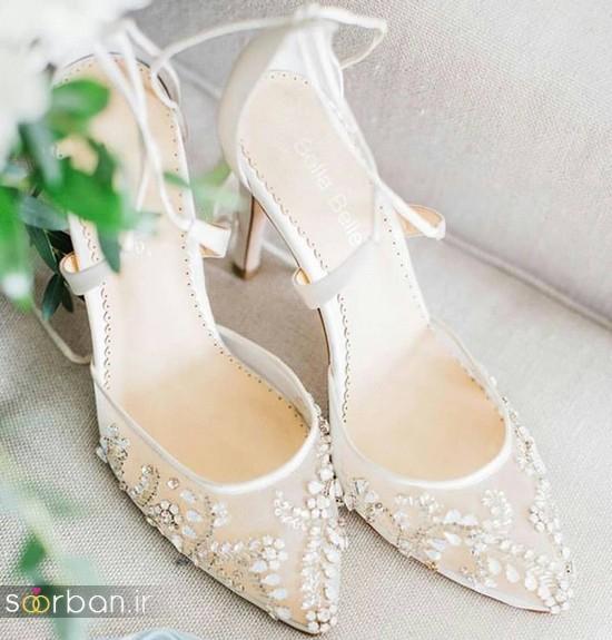 کفش عروس شیک و جدید-4