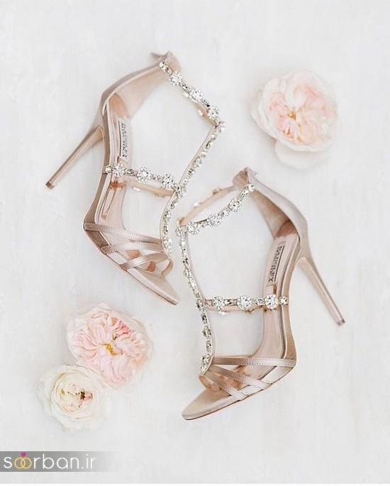 کفش عروس شیک و جدید-13