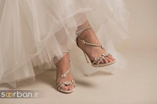 کفش عروس شیک و جدید-15